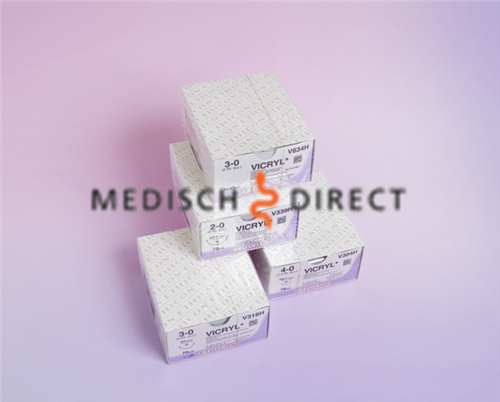 Afbeelding van ETHICON VICRYL PLUS FS-2 NAALD 4/0 VCP392ZH (36st)