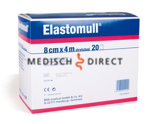 Afbeelding van ELASTOMULL 4m x 8cm 2096 (20x1st)