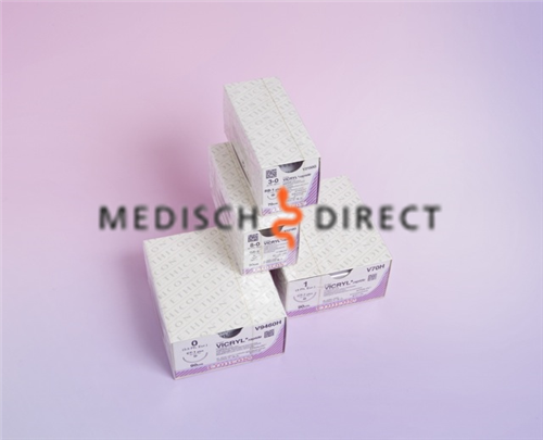 Afbeelding van ETHICON VICRYL RAPIDE SH-1+ NAALD 4/0 V2180G (12st)