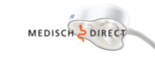 Afbeelding van DR. MACH LED 110 LAMP OP 5- VOETS STATIEF
